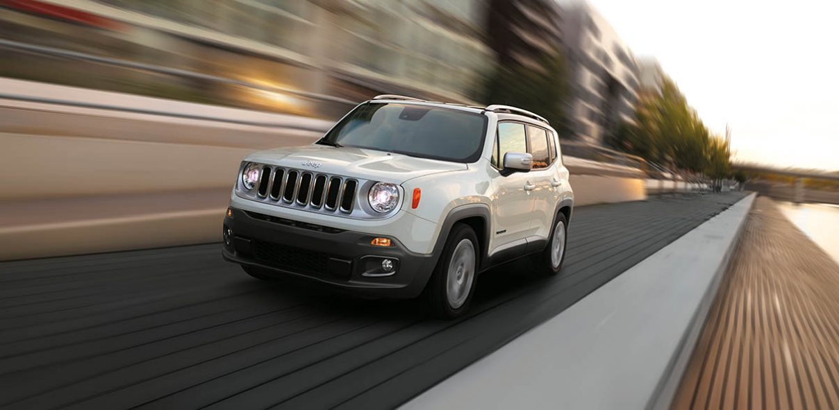 The Jeep Renegade Exterior